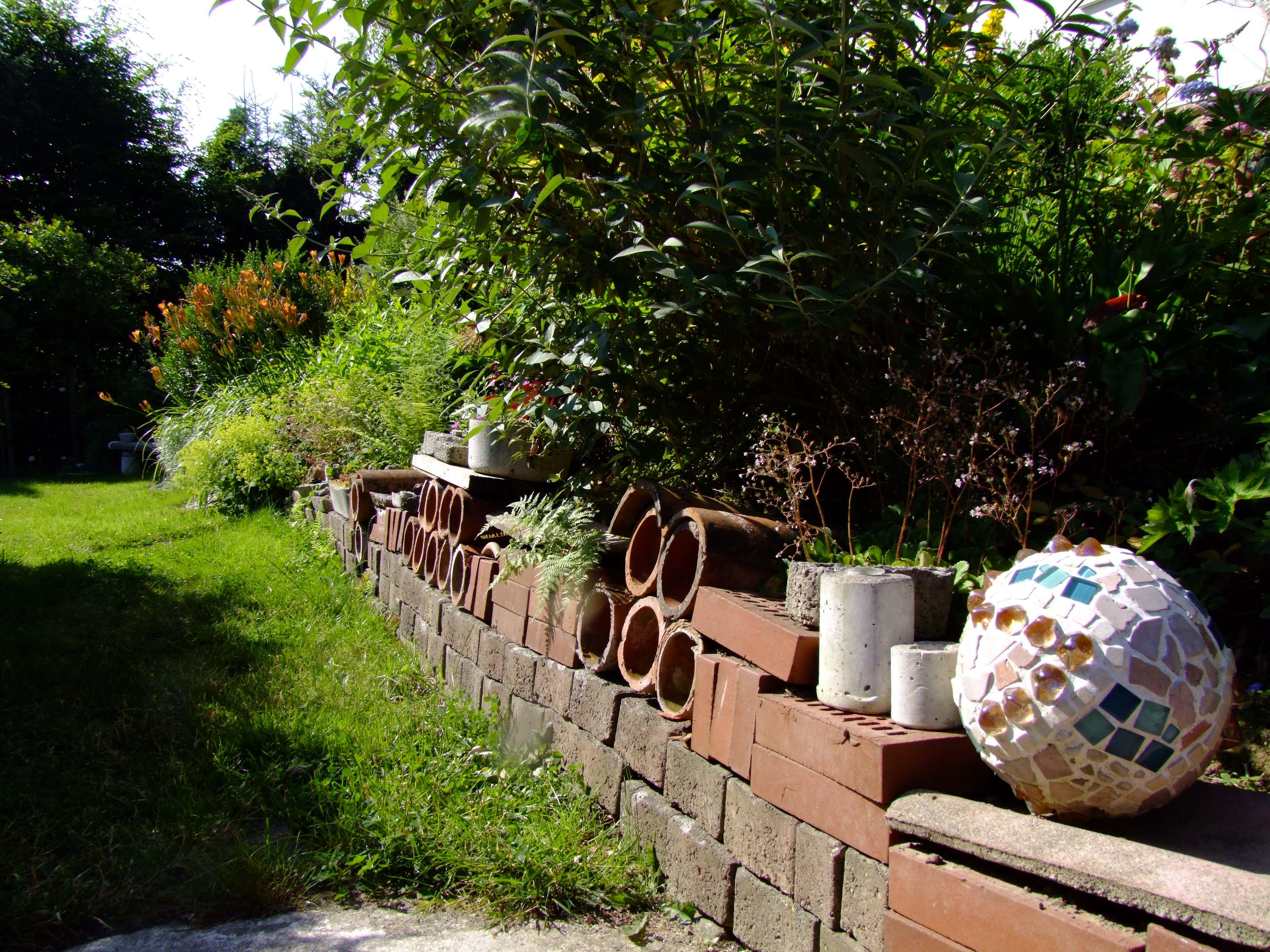 Mosaik Im Garten Ideen F