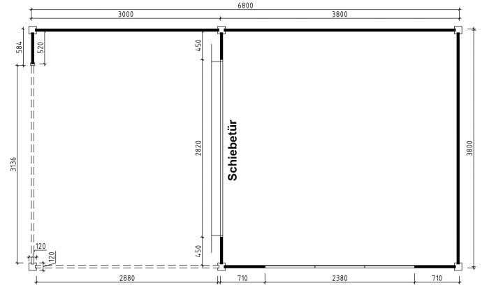 gartenhaus schiebet r die perfekte kombination. Black Bedroom Furniture Sets. Home Design Ideas