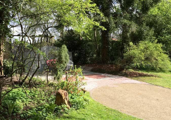 Standplatz Gartenhaus mit fertigem Fundament