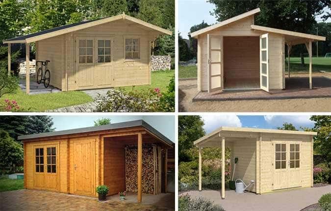 Gartenhäuser Mit Aufbau : gartenhaus schleppdach die perfekte kombination ~ Whattoseeinmadrid.com Haus und Dekorationen