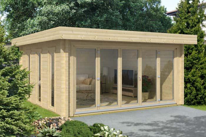 Gartenhaus faltt ren die perfekte kombination for Fenster gartenhaus