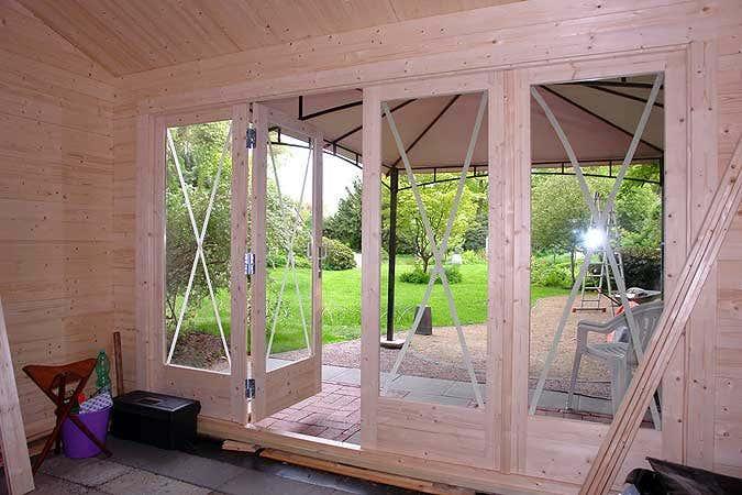 ein gartenhaus wird zum boule clubhaus. Black Bedroom Furniture Sets. Home Design Ideas