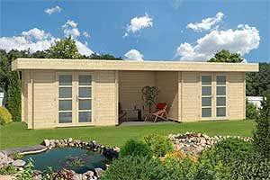 Gartenhaus mit Wow Effekt: Das große Doppel Gartenhaus