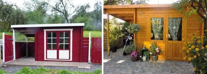 gartenhaus anbau selber bauen alles ber den bau. Black Bedroom Furniture Sets. Home Design Ideas