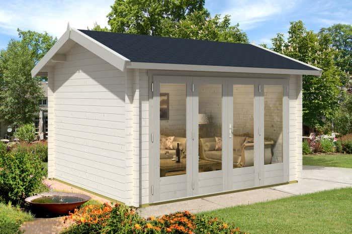 gartenhaus faltt ren die perfekte kombination. Black Bedroom Furniture Sets. Home Design Ideas
