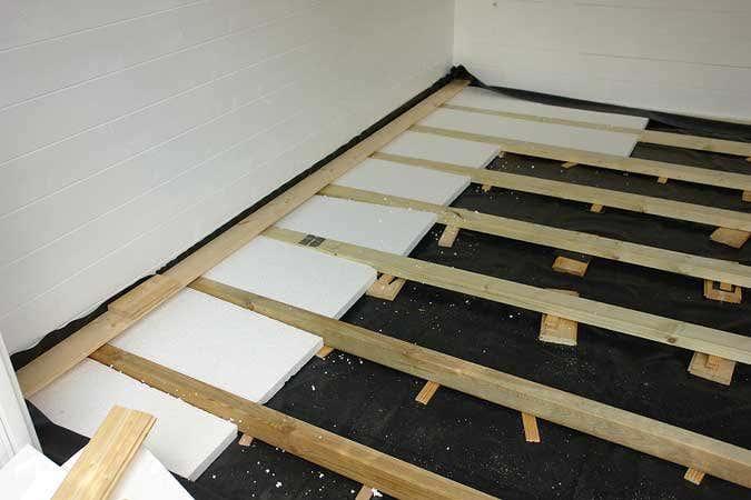 Holzfußboden Gartenhaus ~ Ein gartenhaus wird zum boule clubhaus