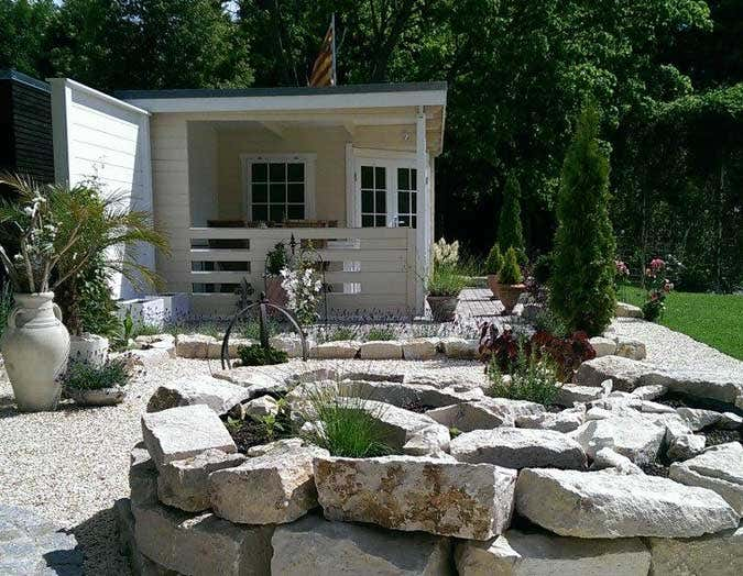 ibiza-flair zuhause: familie hettigs mediterranes gartenhaus, Garten ideen