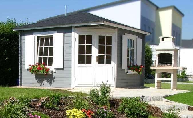 5 Eck Gartenhaus Monica Royal: Das Schmuckstück Im Mediterranen Garten
