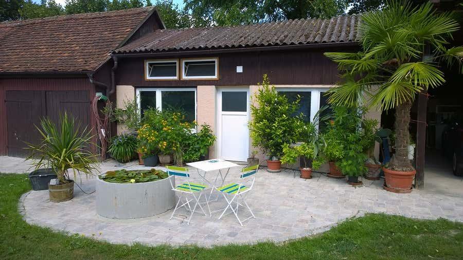 gartenideen achims landgarten mit gew chshaus. Black Bedroom Furniture Sets. Home Design Ideas
