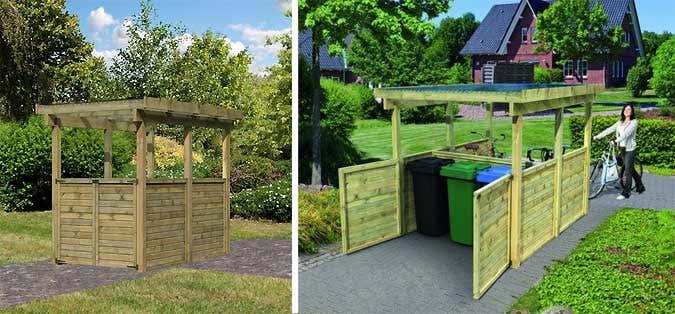 Gut Ein Gartenhaus fürs Fahrrad KX41