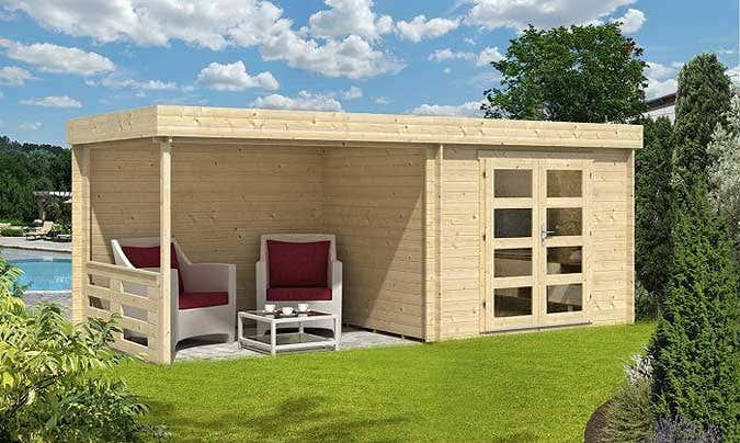Ein gartenhaus f r m lltonnen der optimale unterstand - Gartenhaus mit 2 eingangen ...