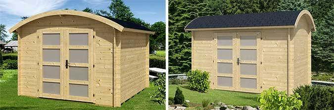 gartenhaus mit rundem dach my blog. Black Bedroom Furniture Sets. Home Design Ideas