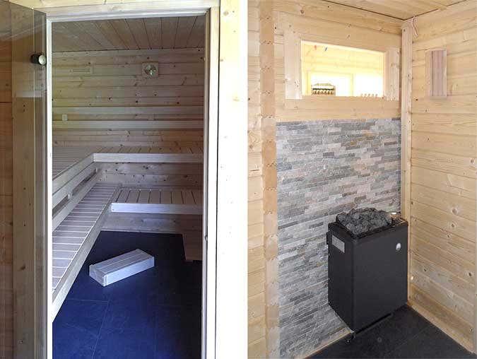 alles in einem gartenhaus sauna und ger tehaus. Black Bedroom Furniture Sets. Home Design Ideas