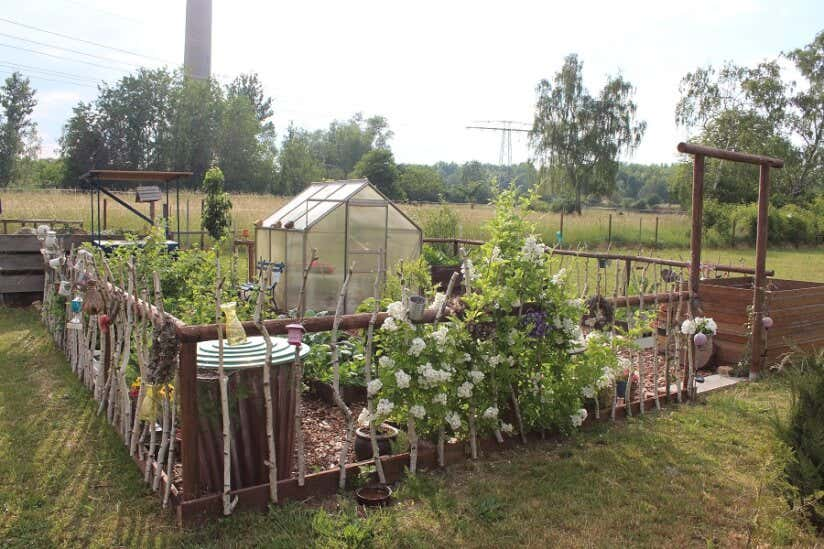 Bauerngarten Mit Rosenpracht Danielas Sächsisches Idyll