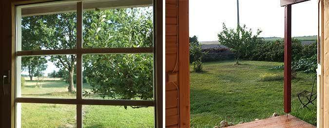 Gartenhaus-ausblick