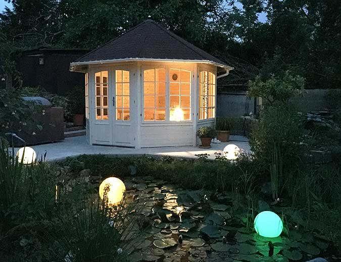 Gartenhaus fotowettbewerb 2015 5 gewinner und viele tolle bilder - Beleuchtung gartenhaus ...