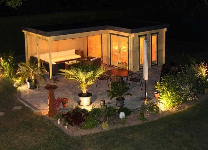 gartenhaus mit gro er berdachter terrasse my blog. Black Bedroom Furniture Sets. Home Design Ideas
