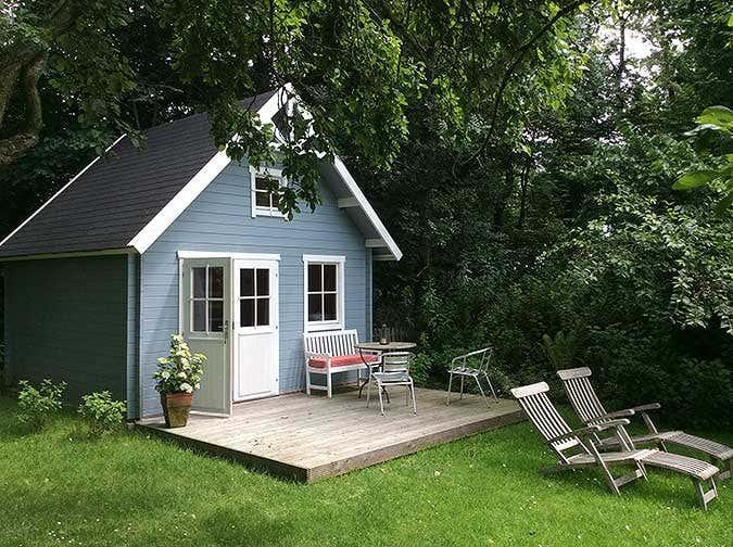 Schwedenhaus gartengestaltung  Ferien im Gartenhaus: Das schönere Camping