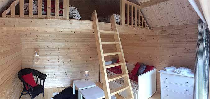 Schwedenhaus innen  Ferien im Gartenhaus: Das schönere Camping