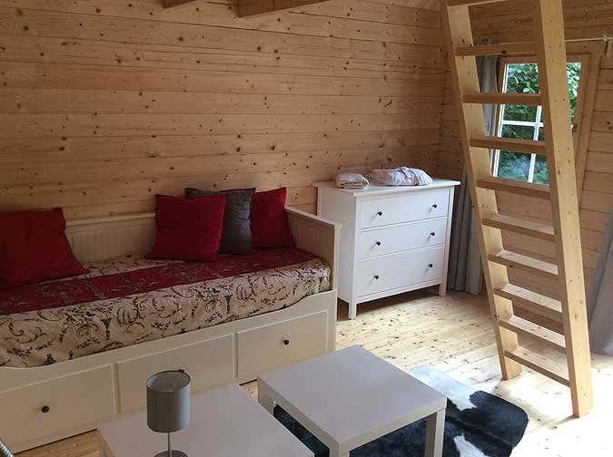 Schwedenhaus einrichtung  Ferien im Gartenhaus: Das schönere Camping