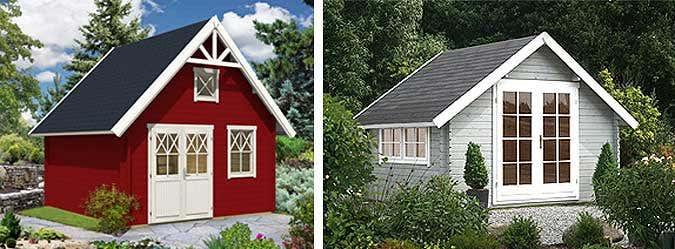 Schwedenhaus gartenhaus  Ferien im Gartenhaus: Das schönere Camping