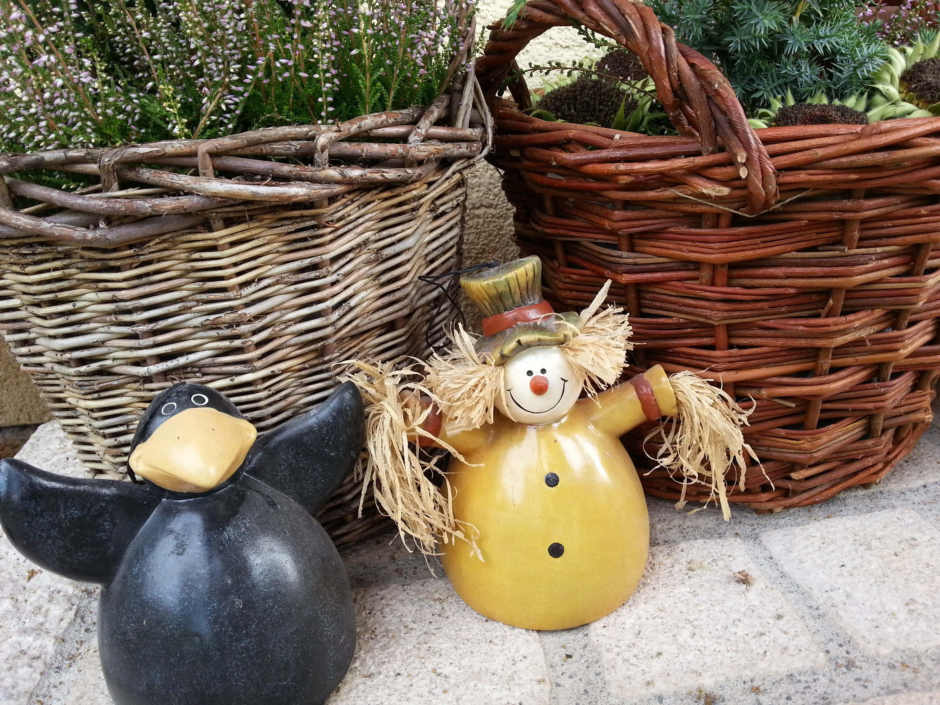 Herbstdeko Ideen Kreativ & bunt den Garten dekorieren