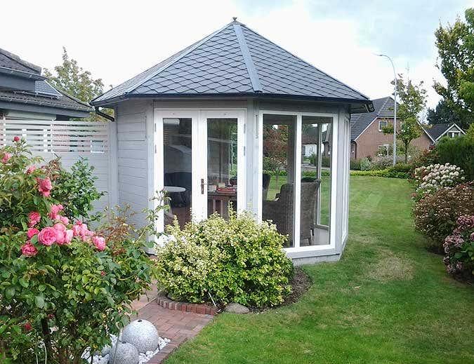 Kleine gartenhaus