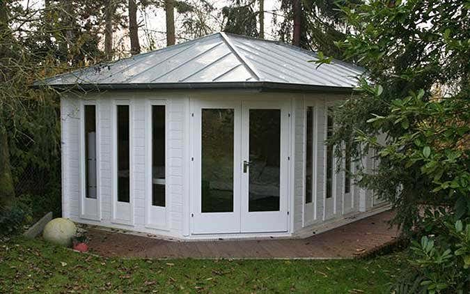 Blechdach für das Gartenhaus