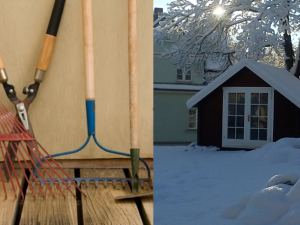 gartengeraete gartenhaus winter. Black Bedroom Furniture Sets. Home Design Ideas