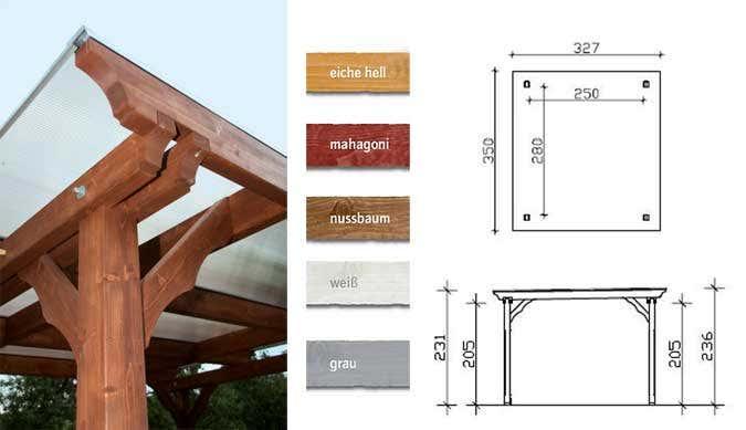 der gartenpavillon mit flachdach. Black Bedroom Furniture Sets. Home Design Ideas