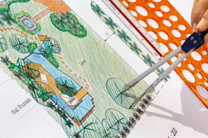 Gartenhaus im Garten planen