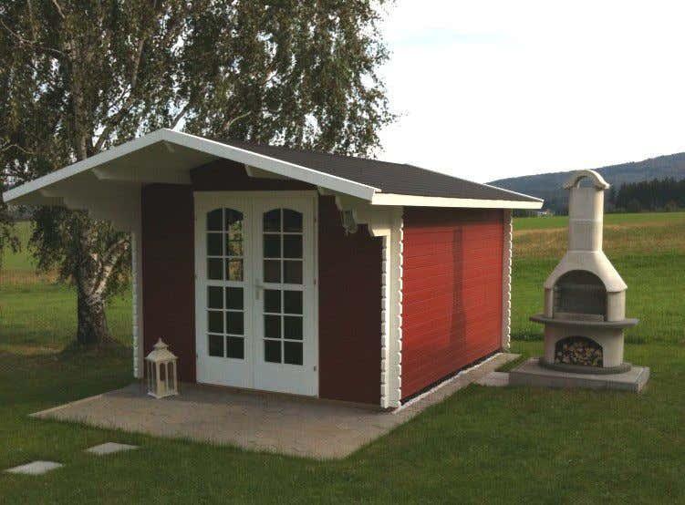 Gartenhaus schwedenrot  Schwedenrot & stilvoll: Die schönsten Schwedenhaus-Gartenhäuser