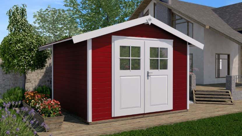 Schwedenrot Stilvoll Die Schonsten Schwedenhaus Gartenhauser