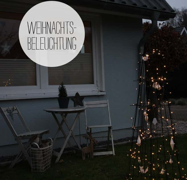 Das schlichte Bäumchen aus Rankgitter verschönert den Vorgarten und schenkt Kerstin und ihrer Familie beim Heimkommen jedes Mal ein Lächeln.