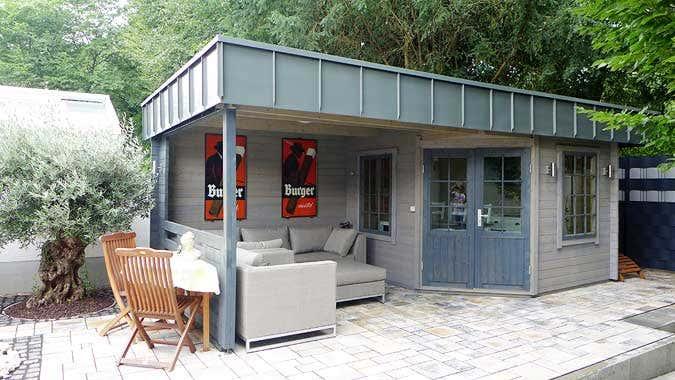 Gartenhaus Mit Outdoor Küche : Das gartenhaus hanna mit individuellem dach