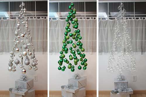 Weil sie so sehr in Bastellaune war, hat Megan das Weihnachtsbaum Mobile gleich dreimal gebastelt. Welches gefällt Ihnen am besten?