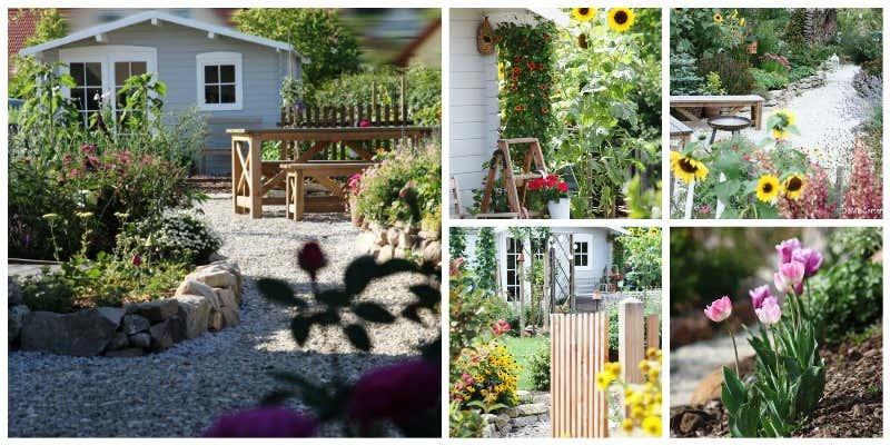 liebevolle Gartengestaltung bei domisgarten.blogspot.de