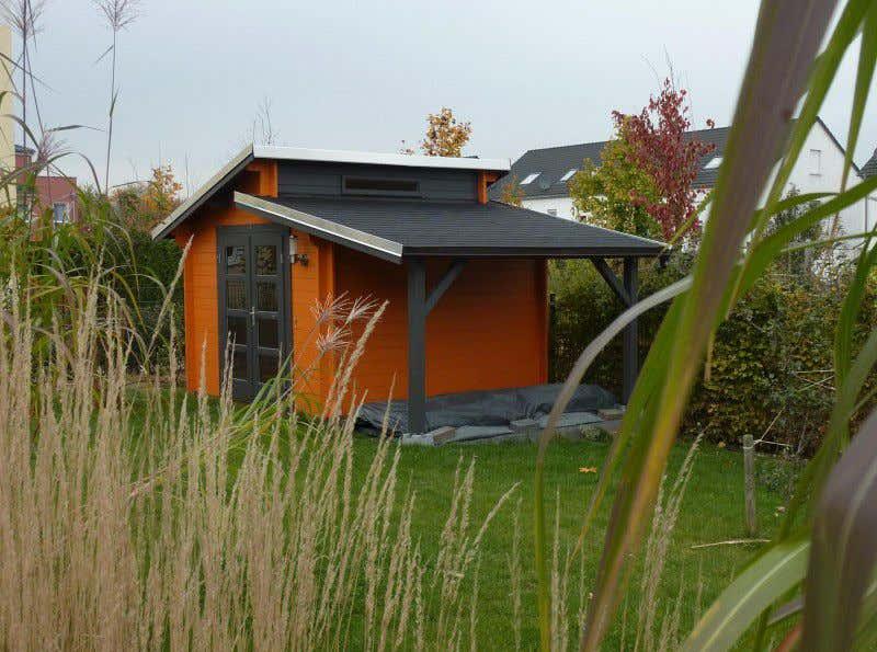 gartenhaus mit pultdach diese modelle machen neidisch. Black Bedroom Furniture Sets. Home Design Ideas