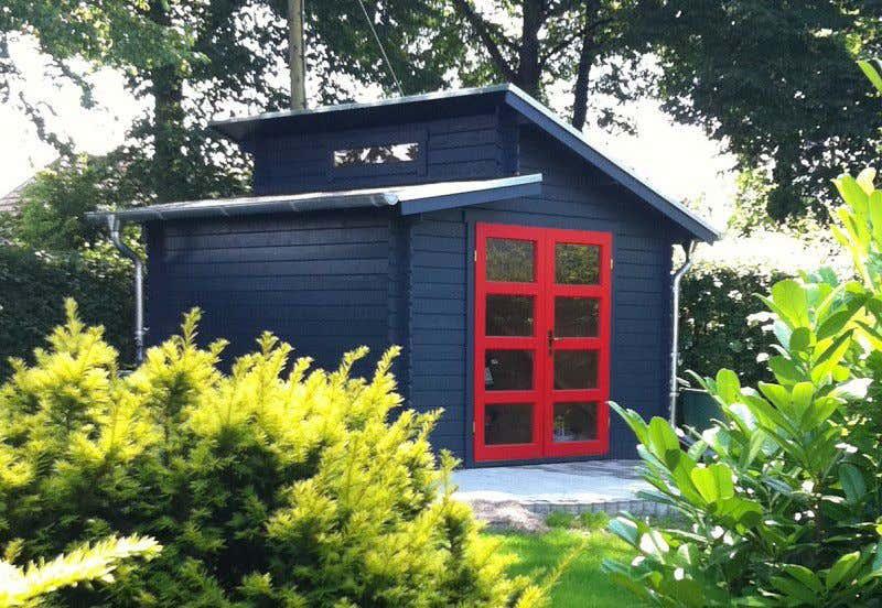 gartenhaus rot grau yangtzecruises. Black Bedroom Furniture Sets. Home Design Ideas