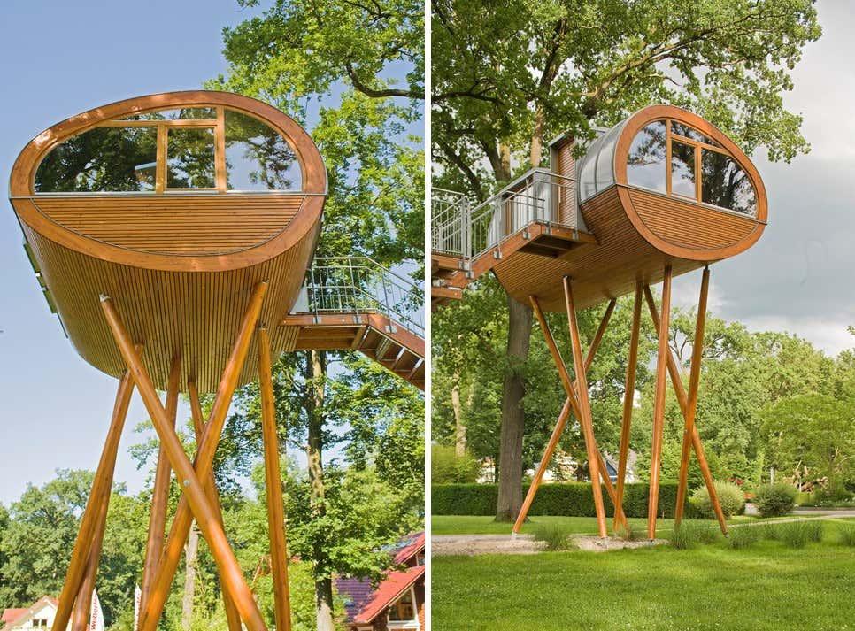 Gartenhaus auf stelzen bauen ideen f rs stelzenfundament for Liegewiese selber bauen