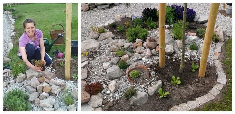 Beet mit kies gestalten  Beete anlegen: Inspirationen für Ihre Gartengestaltung