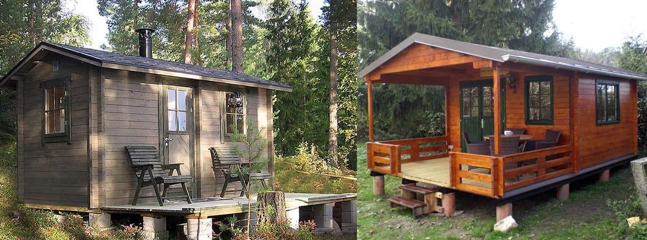 gartenhaus auf stelzen bauen ideen f rs stelzenfundament. Black Bedroom Furniture Sets. Home Design Ideas
