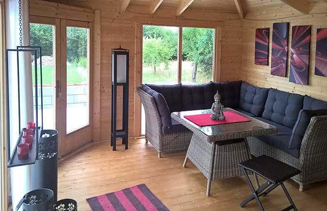 das gartenhaus im japanischen stil. Black Bedroom Furniture Sets. Home Design Ideas