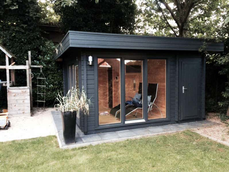 gartenhaus kombiniert gew chshaus carport oder sauna. Black Bedroom Furniture Sets. Home Design Ideas