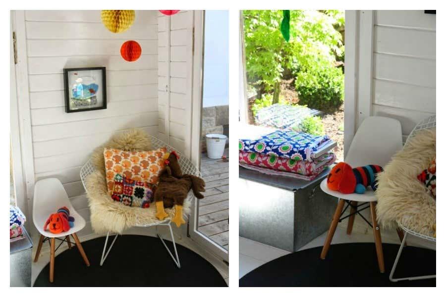 Gartenhaus einrichten 6 ideen f r kleine gartenh user for Entspannungsecke einrichten