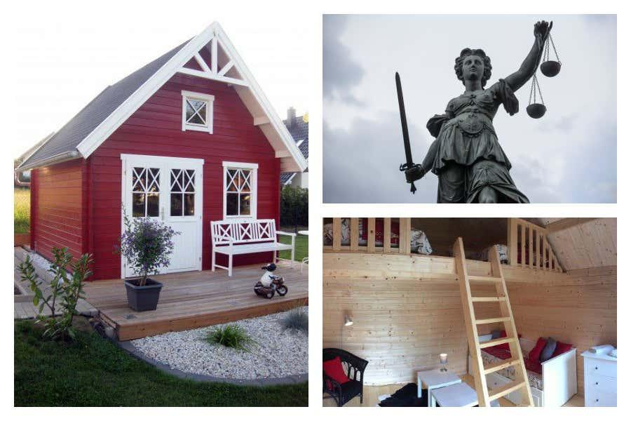 gartenhaus als g stehaus tipps f r zuk nftige gastgeber. Black Bedroom Furniture Sets. Home Design Ideas