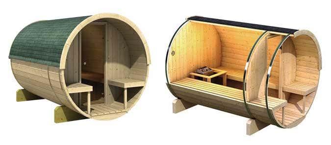 die gartensauna von karibu. Black Bedroom Furniture Sets. Home Design Ideas