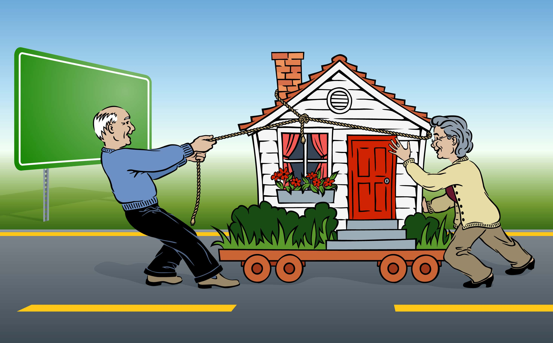 Umzug mit dem Gartenhaus – Das müssen Sie beachten und so gelingt der Transport