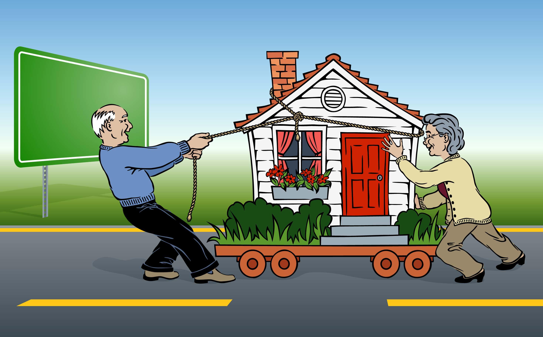 umzug mit dem gartenhaus so gelingt der transport. Black Bedroom Furniture Sets. Home Design Ideas