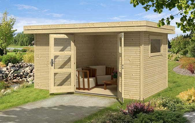 neu von lasita maja die gartenhaus serie faro. Black Bedroom Furniture Sets. Home Design Ideas